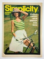 1975 Womens Fashion Vintage Zellers Flyer July Simplicity Fashion News 724A