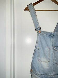 Asos Denim Shorts Overalls