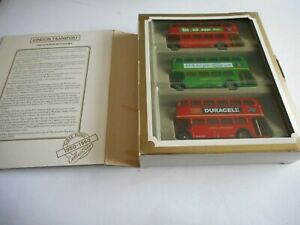EFE Gilbow London Transport 3 Buses 1950-1960 Collection 1:76 + Box