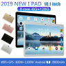 "10.1"" HD PC Tablet Android 9.0 6+128G SIM GPS+WIFI/4G-LTE Dual Camera"