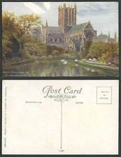 Wells J Salmon Collectable Somerset Postcards