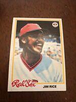 1978 Topps Jim Rice #670 Baseball Card