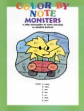 Color by Note Monsters: A Nifty Notespeller to Write and Play, Coloring Book
