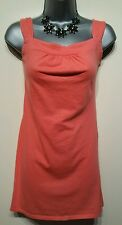 Size 10 Top GEORGE Orange Tunic Vest Casual Women's Holiday Summer Beach