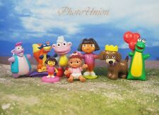 DORA THE EXPLORER & Friends Set 8 Figure Model Cake Topper Decoration K364_Set8b