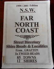 FAR NORTH COAST NSW 1999/2001 STREET DIRECTORY - GRAFTON to TWEED HEADS s/c maps