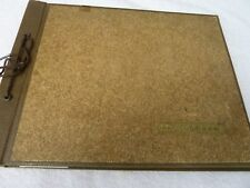 1940s Photo Album United States Midwest, Hawaii, and Jack Benny (?)