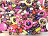 Mixed Assorted Acrylic Beads Jewellery Making Craft Beads Job Lot 50g