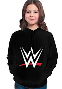 NEW Children's 3D Printed WWE Pullover Hoodie Sweatshirt