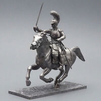 Tin soldier, Officer of the French carabinieri, Napoleonic Wars, 54 mm