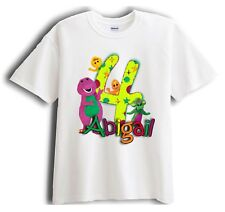 Barney and Friends Personalized - Birthday T-Shirt Party Favor