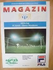 SPORTS Magazine: 1999 UEFA CUP, FC ZURICH v SLIEMA WANDERERS