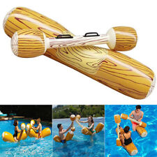 2 Pairs Fun Summer Log Flume Joust Swimming Pool Inflatable Float Game Set Toy