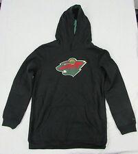 Minnesota Wild NHL Youth Kid's Pullover Hoodie Black XL