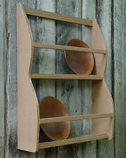Primitive Grungy Bowl Rack Shelf/Cupboard Pattern/Plan WN120