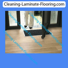 Quick-Step Laminate Floor Entrance Mat System - Mat Well Frame and 3 Zone Mat