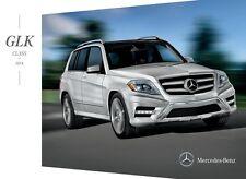 2014 Mercedes Benz GLK-Class GLK250 GLK350 20-page Sales Brochure Catalog