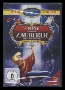 DVD WALT DISNEY - HEXE UND DER ZAUBERER - ZUM 45. JUBILÄUM - SPECIAL COLLECTION