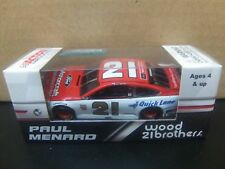 Paul Menard 2018 Wood Brothers #21 Fusion 1/64 NASCAR Monster Energy Cup