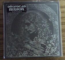"DROPDEAD/BRAINOIL split 7"" NEW clear/black vinyl hardcore Armageddon Label"
