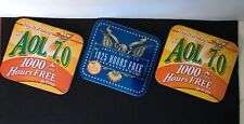 AOL.COM Tin CD Disc Holders, Vintage