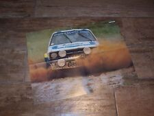 Poster 4 pages d'époque  FORD Escort RS1800 B Waldegard 1979 Acropolis Rally //