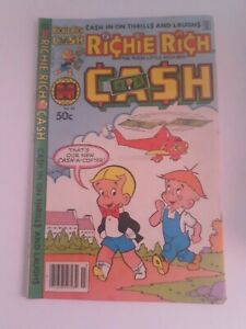Harvey World Richie Rich Cash #39 Comic Book Free Combined Shipping!!!