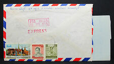 Thailand Express Airmail Letter to Japan Luftpost Flugpost Brief Asien (L-2293