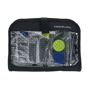 New Travelon Wet/Dry 1 Quart TSA Compliant Hanging Organizer with Bottles and