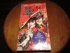 MY FAIR LADY 2 TAPE VHS BOX SET NEW FACTORY SEALED AUDREY HEPBURN REX HARRISON