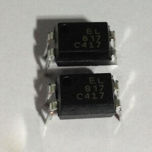 10Pcs EL817 DIP-4 Single Channel Photocoupler EL817C EL817B PC817C