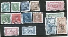 TCHECOSLOVAQUIE : timbres oblitérés de 1932