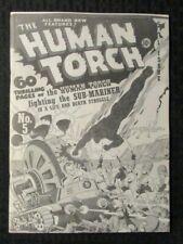 1970's FLASHBACK #2 FVF 7.0 Reprint Human Torch #5 Sub-Mariner