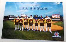 "2016 Chicago Cubs Baseball -- TEAM ALL STARS -- 11"" x 17"" POSTER"