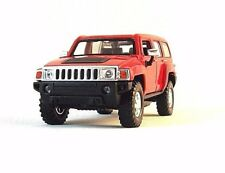 HUMMER H3 RED WELLY 1/32 DIECAST CAR MODEL,COLLECTOR'S CAR MODEL , RARE , NEW