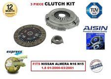 para Nissan Almera 1.8 QG18DE N15 N16 01/ 2000-03/ 2001 AISIN Calidad OE