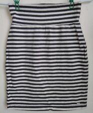 Victoria Secret PINK StripedMini Skirt Black White XS
