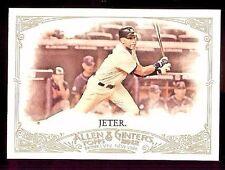 2012 Topps Allen and Ginter #274 Derek Jeter (D)