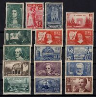 PP137250/ FRANCE – YEARS 1937 - 1938 MINT MNH / MH SEMI MODERN LOT – CV 161 $