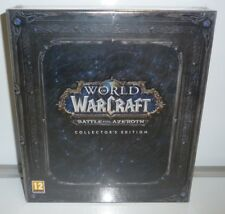 WORLD OF WARCRAFT BATTLE FOR AZEROTH COLLECTOR'S EDITION PC NEW MULTILANGUAGE