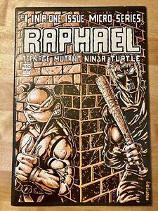 Raphael #1 (Mirage 1985) 1st print - 1st Casey Jones .99 CENT START!