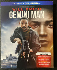 GEMINI MAN(BLU-RAY NO DVD OR DIGITAL)W/SLIPCOVER NEW FREE SHIPPING