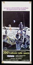 """l'affiche du film 2001: ODISSEA NELLO SPAZIO """"2001: Une Odyssée De L'espace"""" s."""