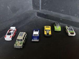 Mega Blocks Cars X 6