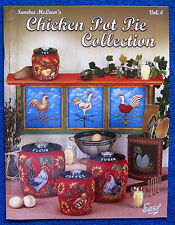 Chicken Pot Pie Collection 4 Painting Pattern Book Sandra McLean Animals -Unused