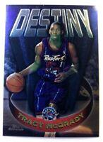 1997 97-98 Topps Chrome Destiny Tracy McGrady #D6, Rookie RC, Raptors