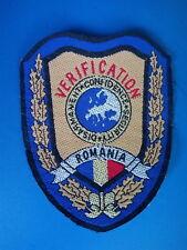 Disarmament Verification Security Bosnia, Kosovo war Patch Romania