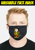 The Elf Made Me Do It Face Mask, Funny Protection Reusable Washable Cover Mask