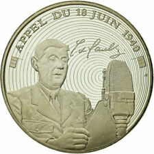 [#712737] France, Medal, Vème République, L'Appel du 18 Juin, Ms, Copper