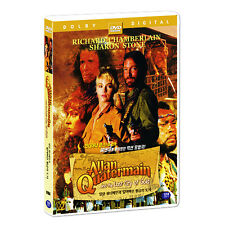 Allan Quatermain and The Lost City of Gold (1987) DVD (*New *Sealed *All Region)